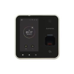 Suprema Control de Acceso y Asistencia Biométrico BioStation A2, RS-485, Negro/Gris