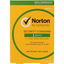Symantec Norton Security Standart Español, 1 Usuario, 1 Año, Windows/Mac/Android/iOS