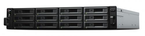 Synology Servidor NAS  RS2418+ de 12 Bahías, max. 192TB, Intel Atom C3538 2.10GHz, 4GB DDR4, 2x USB 3.0 ― no incluye Discos