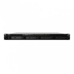 Synology RackStation RS818RP+ NAS de 4 Bahias, 48TB (4 x 12TB), max. 48TB, Intel Atom C2538 2.40GHz, 2x USB 3.0, Negro - no incluye Discos