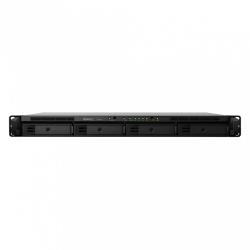 Synology Servidor NAS RS819 de 4 Bahías, Realtek RTD1296 1.40GHz, 2GB DDR4, USB 3.0, Negro ― no incluye Discos