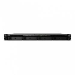 Synology Servidor NAS RS820+ de 4 Bahías, máx. 64TB, Intel Atom C3538 2.10GHz, 2GB DDR4, USB 3.0, Negro ― no incluye Discos