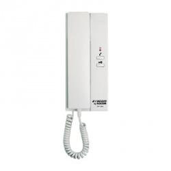 Syscom Auricular Adicional para Interfon, 2 Botones, Blanco, para MS-2D