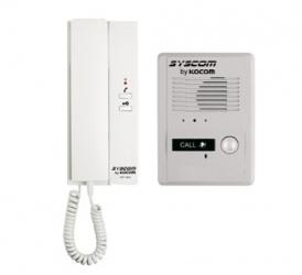 Syscom Inferfon con 1 Auricular KDP-601A1M/MS2D, Blanco