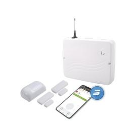 Syscom Kit Sistema de Alarma Profesional S365-PRO, 8 Zonas Cableadas/32 Inalambricas, Incluye Gabinete/Fuente de Poder/Tarjeta Hibrida