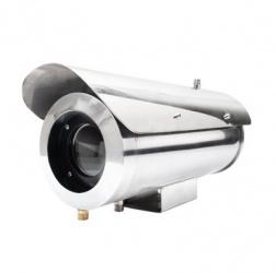 Syscom Gabinete para Cámaras Resistente a Altas Temperaturas, 28cm, Acero Inoxidable
