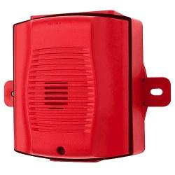 System Sensor Sirena para Exterior, Alámbrico, 93dB, Rojo