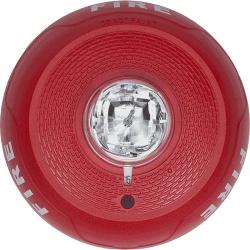System Sensor Luz Estroboscópica para Montaje en Techo, Rojo