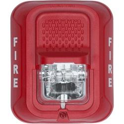 System Sensor Luz Estroboscópica para Montaje en Pared, Rojo