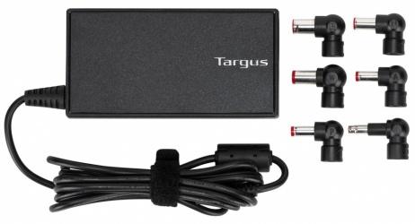 Targus Cargador Universal para Laptop APA90US, 90W, incluye 6 Conectores