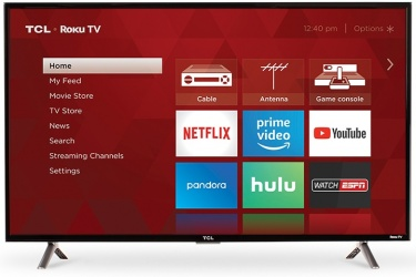 TCL Smart TV LED 43S305 43'', Full HD, Widescreen, Negro