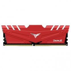 Memoria RAM Team Group T-FORCE DARK Z Red DDR4, 3000MHz, 8GB, Non-ECC, CL16, XMP