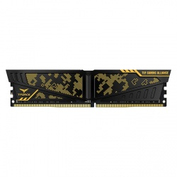 Kit Memoria RAM Team Group Vulcan TUF Black DDR4, 3200MHz, 32GB (2x 16GB), Non-ECC, CL18, 1.35V
