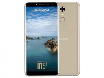 Smartphone TechPad M5Plus 5.5'', 1280 x 720 Pixeles, 3G, Android 7.0 Nougat, Oro