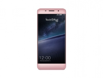 Smartphone TechPad X5 5'', 1280 x 720 Pixeles, 3G/4G, Android 7.0, Rosa