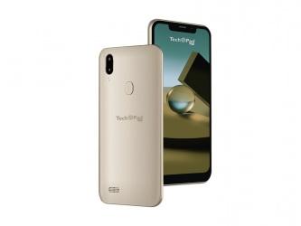 Smartphone Techpad X6 6.18'', 996 x 480 Pixeles, 4G, Android 8.1, Dorado