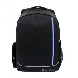 TechZone Mochila de Nylon para Laptop 15.6'', Negro