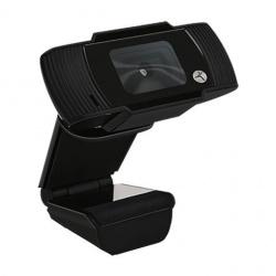 TechZone Webcam TZCAMPC01, 720p, USB/3.5mm, Negro