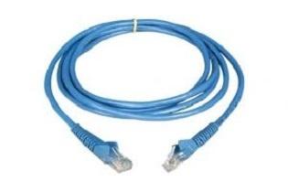 TE Connectivity Cable Patch Cat5e UTP, RJ-45 Macho - RJ-45 Macho, 3 Metros, Azul - Línea Standard Compliant