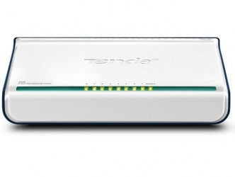 Switch Tenda Fast Ethernet Mini S108, 10/100Mbps, 8 Puertos – No Administrable