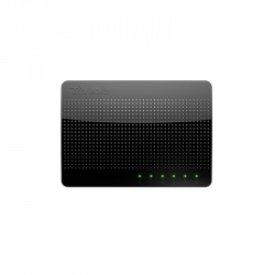 Switch Tenda Gigabit Ethernet SG105, 5 Puertos 10/100/1000Mbps, 10 Gbit/s, 4000 Entradas - No Administrable