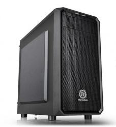 Gabinete Thermaltake Versa H15, Micro-Tower, Micro-ATX/Mini-ITX, USB 2.0/3.0, sin Fuente, Negro