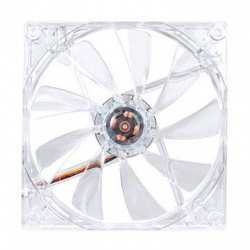 Ventilador Thermaltake Pure 14 LED Rojo, 140mm, 1000RPM, Transparente