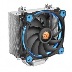 Disipador Thermaltake Riing Silent 12, 120mm, 300- 1400 RPM, Negro/Azul/Plata
