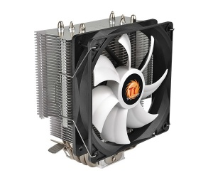 Disipador CPU Thermaltake Contact Silent 12, 120mm, 400-1500RPM, Gris