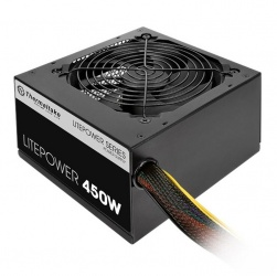 Fuente de Poder Thermaltake Litepower, ATX, 120mm, 450W