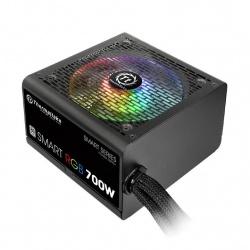 Fuente de Poder Thermaltake Smart RGB 80 PLUS, 20+4 pin ATX, 120mm, 700W