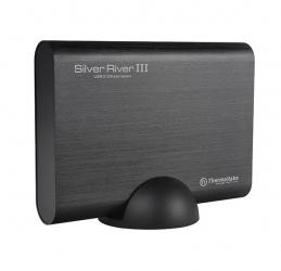 Thermaltake Gabinete de Disco Duro Silver River III 5G para 3.5'', SATA, Aluminio