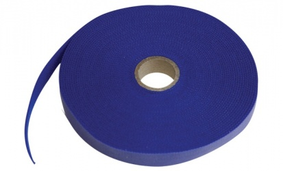 Thorsman Abrazadera para Cables de Nylon, 25 Metros, Azul