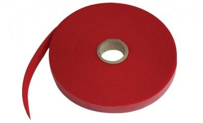 Thorman Abrazadera para Cables de Nylon, 25 Metros, Rojo