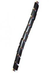 Thorsman Cubrecables, 15mm x 10m, Negro