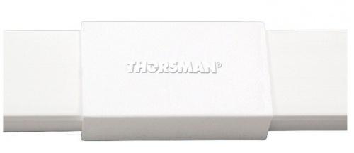 Thorsman Unión para Canaletas TMK1020, Blanco, 1 Pieza