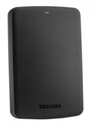 Disco Duro Externo Toshiba Canvio Basics 2.5'', 3TB, USB 3.0, Negro