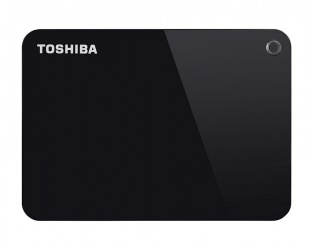 Disco Duro Externo Toshiba Canvio Advance 2.5'', 1TB, USB 3.0, Negro - para Mac/PC