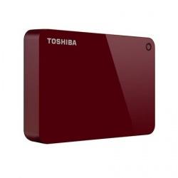 "Disco Duro Externo Toshiba Canvio Advance 2.5"", 1TB, USB, Rojo"