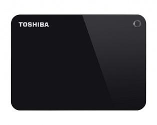 Disco Duro Externo Toshiba Canvio Advance 2.5'', 2TB, USB 3.0, Negro - para Mac/PC
