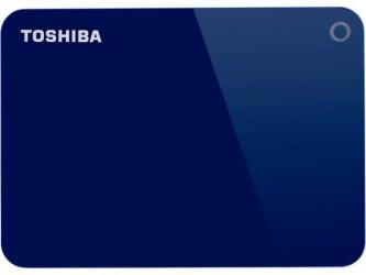 Disco Duro Externo Toshiba Canvio Advance 2.5'', 2TB, USB 3.0, Azul - para Mac/PC