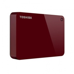 Disco Duro Externo Toshiba Canvio Advance, 2.5'', 2TB, USB 3.0, Rojo
