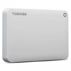 Disco Duro Externo Toshiba Canvio Advance, 2.5'', 2TB, USB 3.0, Blanco