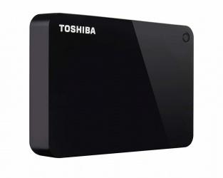 Disco Duro Externo Toshiba Canvio Advance 2.5'', 4TB, USB 3.0, Negro