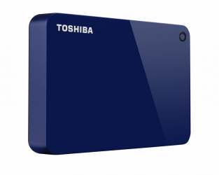 Disco Duro Externo Toshiba Canvio Advance 2.5'', 4TB, USB 3.0, Azul