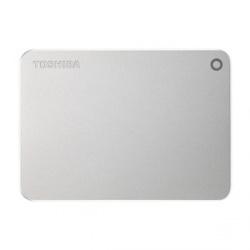 Disco Duro Externo Toshiba Canvio Premium 2.5'', 1TB, USB 3.0, Plata - para Mac/PC