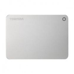 "Disco Duro Externo Toshiba Canvio Premium 2.5"", 3TB, USB 3.0, Plata - para Mac/PC"