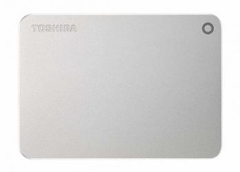 Disco Duro Externo Toshiba Canvio Premium 2.5'', 2TB, USB 3.0, Plata - para Mac/PC