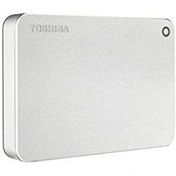 Disco Duro Externo Toshiba Canvio Premium, 3TB, USB 3.0, Plata
