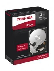 Disco Duro Interno Toshiba P300 3.5'' 2TB, SATA III, 7200RPM, 64MB Cache